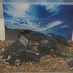 【ドライブでハプニング】クワカブジオラマ写真コンテスト:エントリーNO11