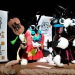 【沖鋸大相撲 夏場所 千秋楽 ~結びの一番~】クワカブジオラマ写真コンテスト:エントリーNO16