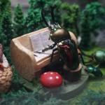 【森のなかで…】クワカブジオラマ写真コンテスト:エントリーNO5