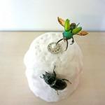 【目指せ!雪の女王!2】クワカブジオラマ写真コンテスト:エントリーNO4